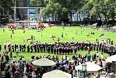 NYC Flash Mob Wedding Proposal Includes Marching Band