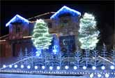 'Frozen' Christmas Lights ('Let It Go') 2014