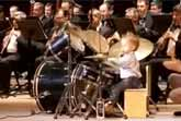 Little Kid Plays The Drums Like A Pro